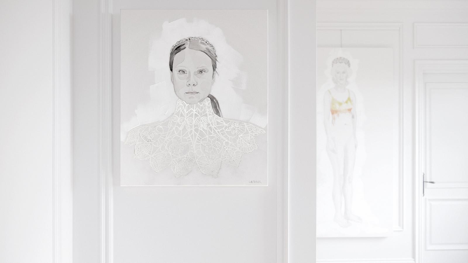 Greta Thunberg par Brigitte Lafleur
