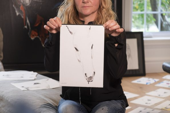 Mini Testarossa par Brigitte Lafleur