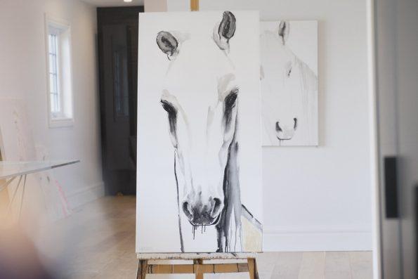 Simona 48x24 par Brigitte Lafleur